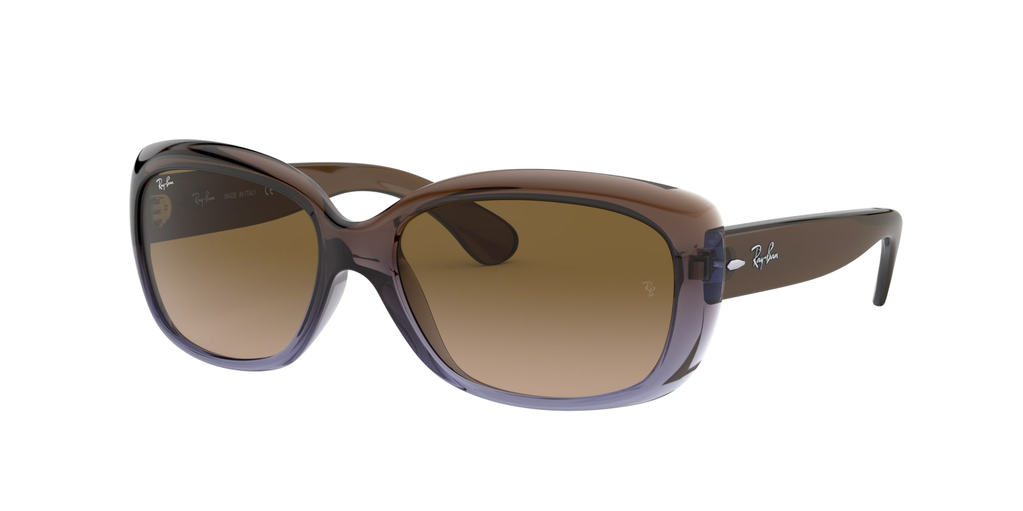 Ray Ban Jackie Ohh solbriller, brown/brown gradient