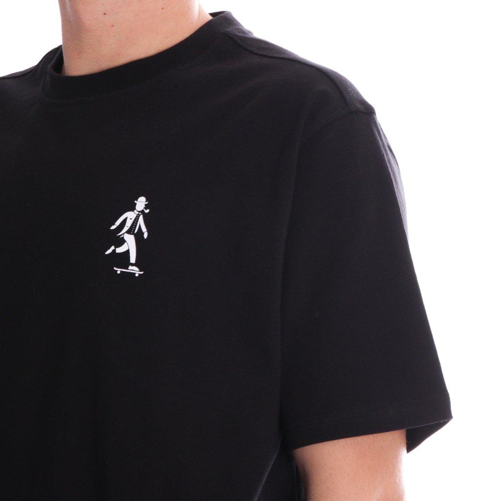ALIS Gentleman Mini Logo t-shirt, black, small