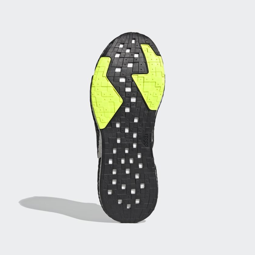 Adidas X9000L4 sko, core black/core black/solar red, 46