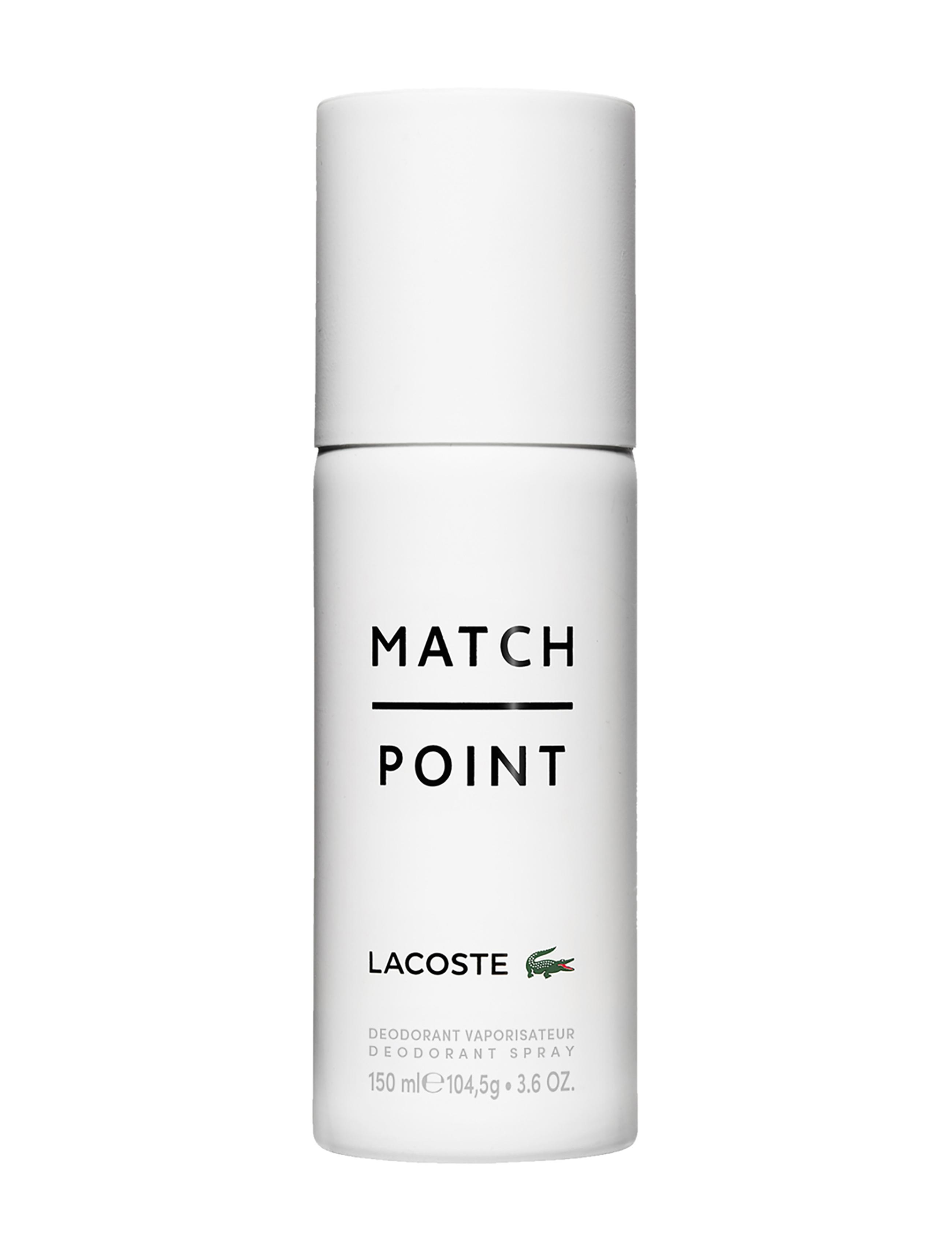 Lacoste Match Point Deodorant Spray, 150 ml