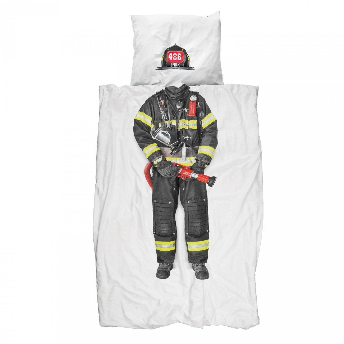 SNURK sengetøj, Brandmand, 140x200 cm