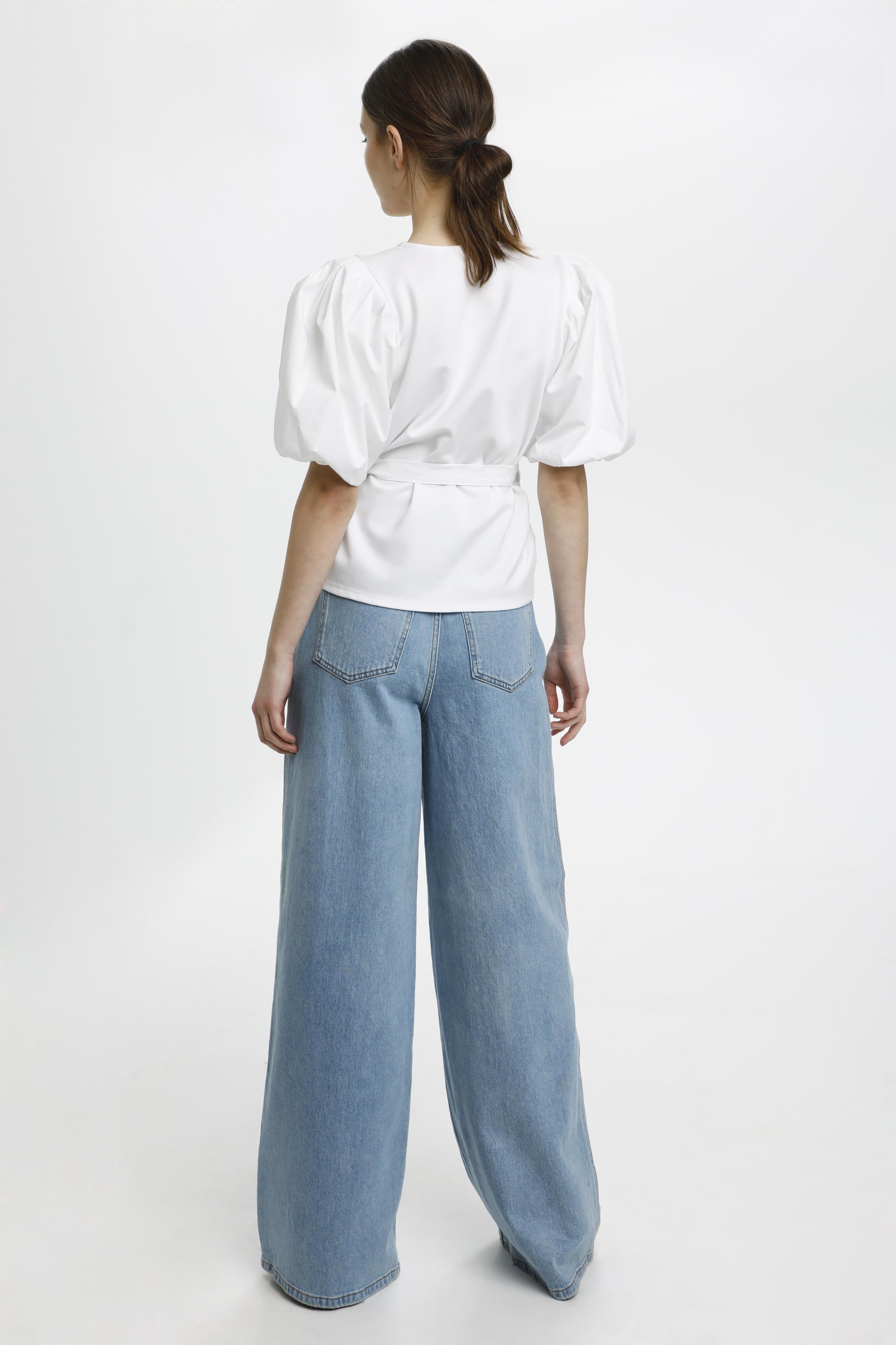 Gestuz NemaGZ bluse, bright white, x-large