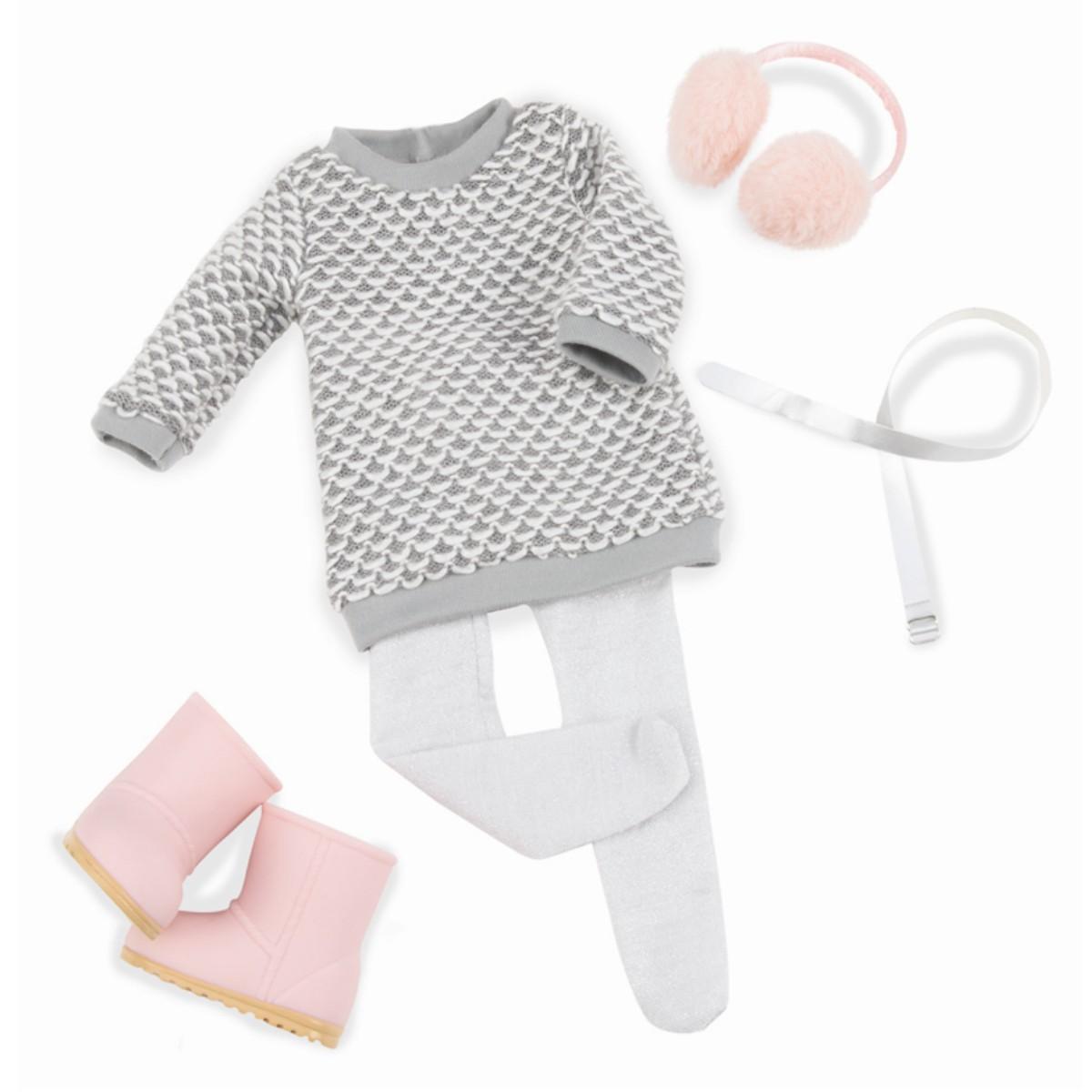 Our Generation dukketøj, sweater kjole
