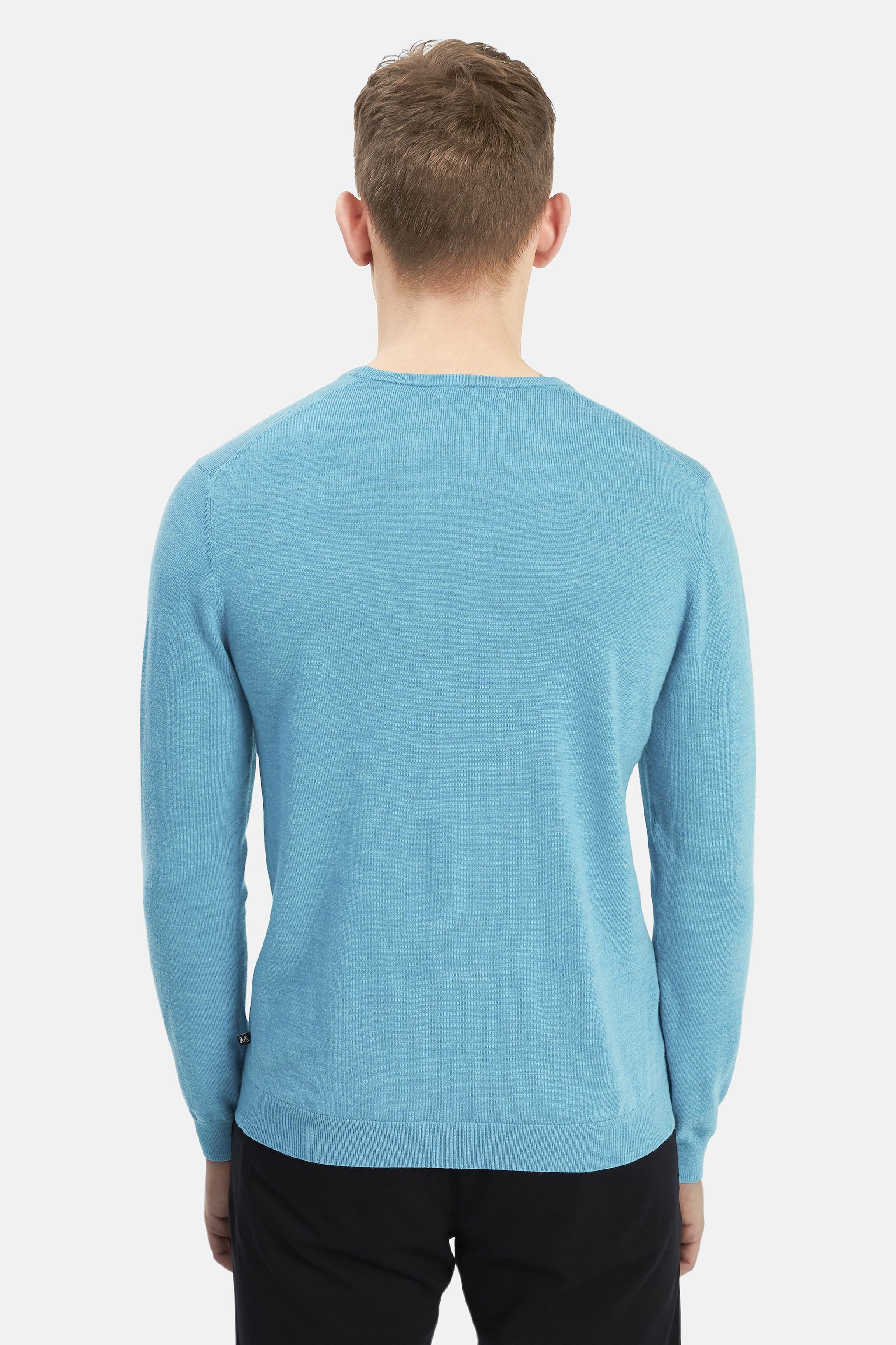Matinique Margrate pullover, blue moon melange, x-large