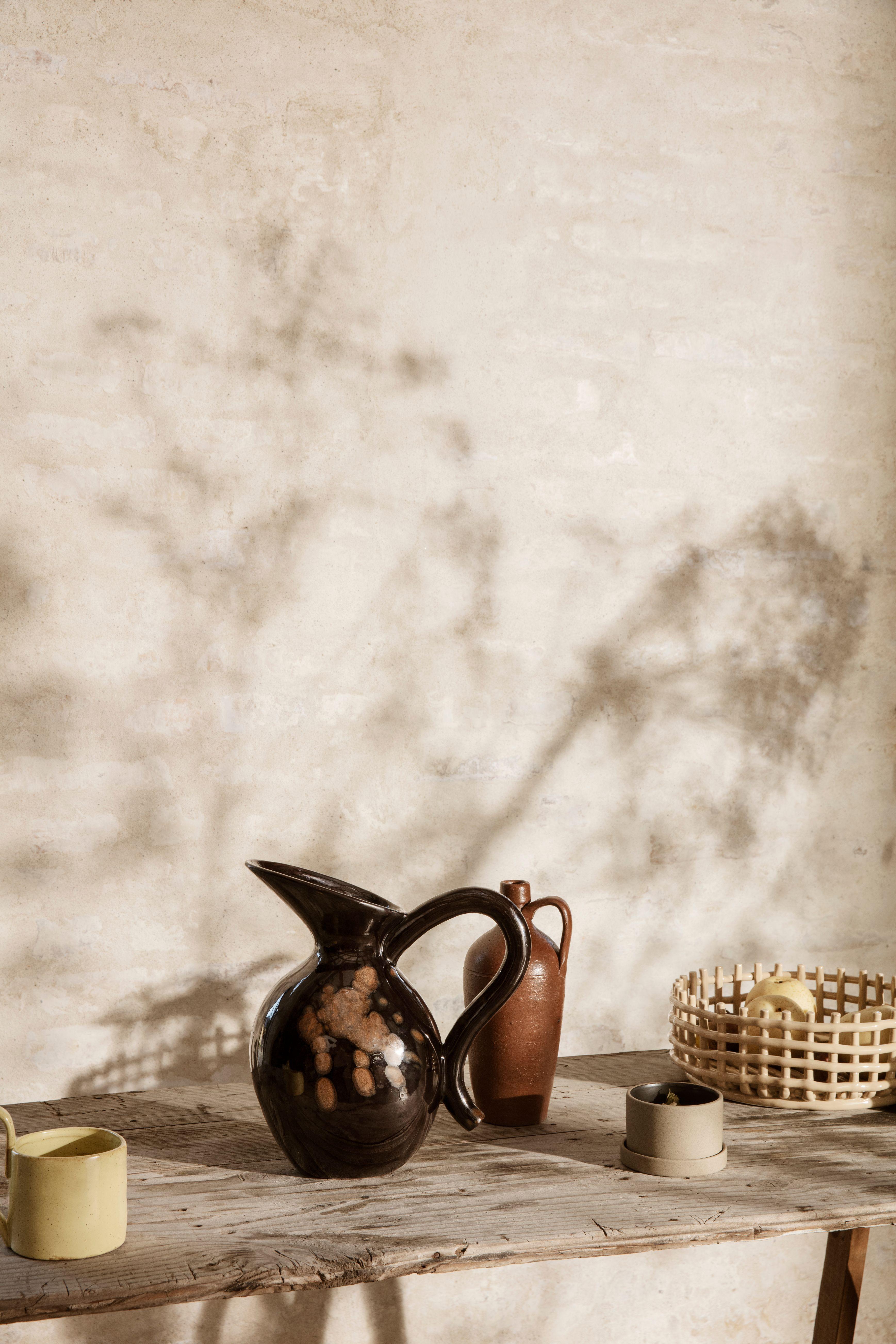 ferm LIVING Ceramic Centrepiece, cashmere