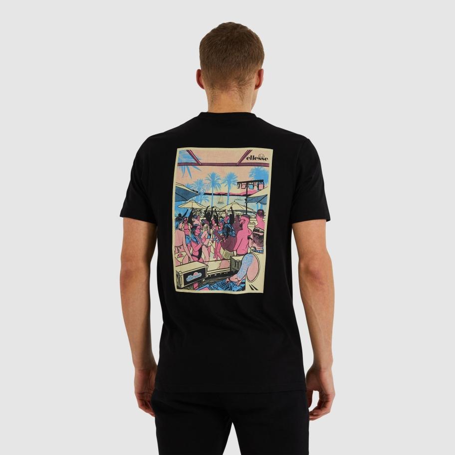 Ellesse Cucce t-shirt, black, large