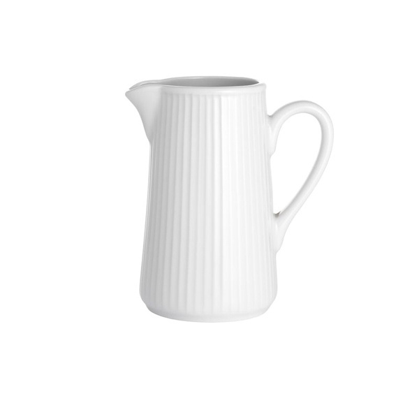 Pillivuyt Plissé mælkekande, 350 ml, hvid