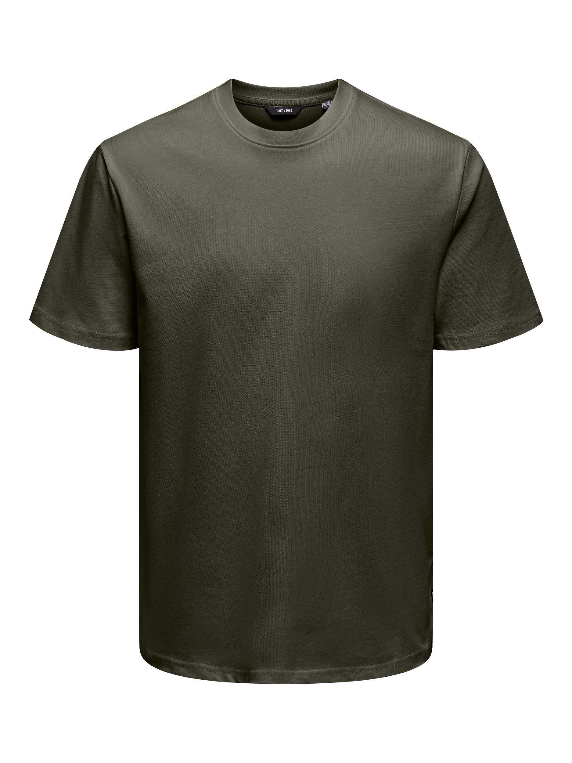 Only & Sons Anel Life SS t-shirt, forest night, x-large