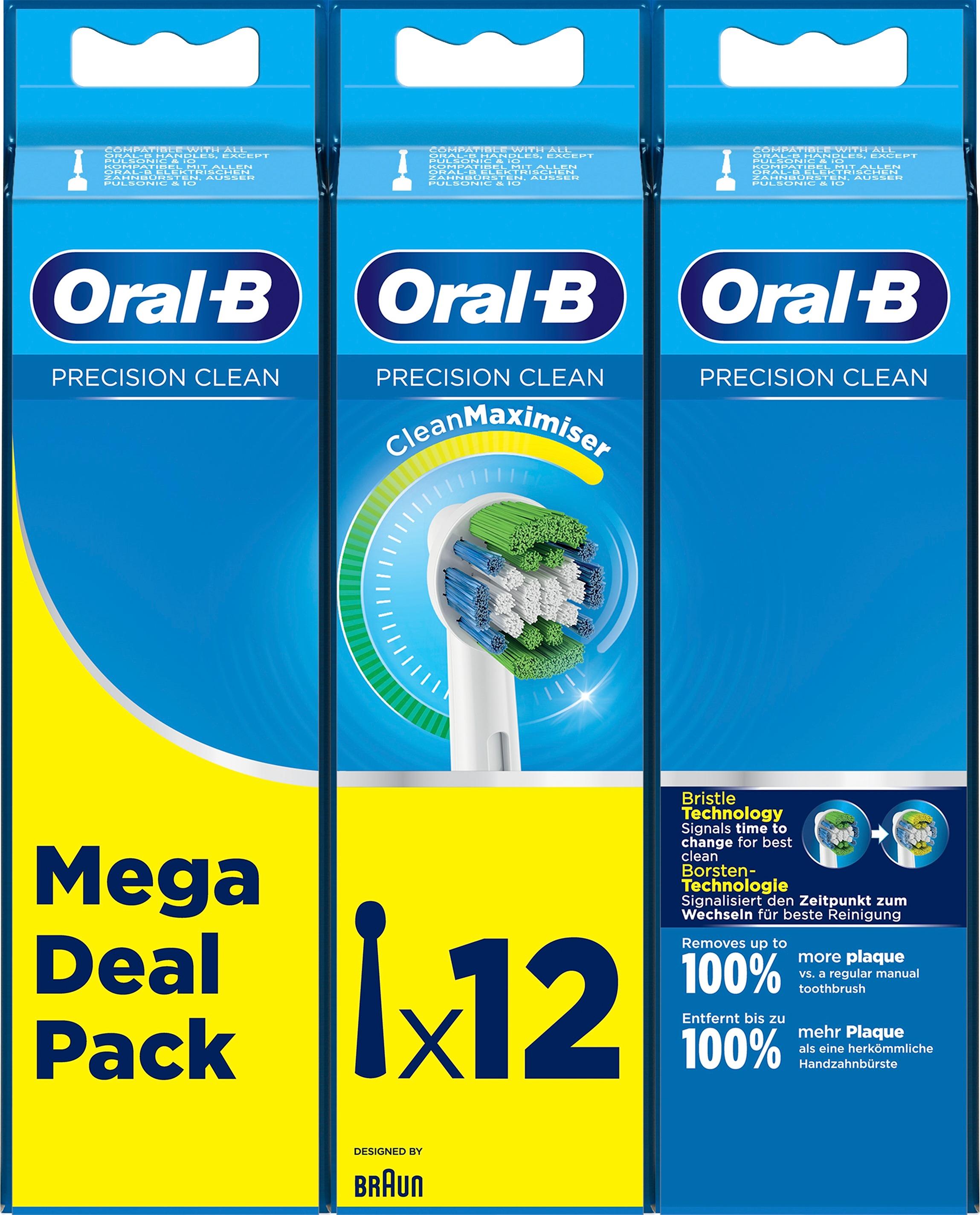 Oral-B Precision Clean tandbørstehoveder, 12 stk