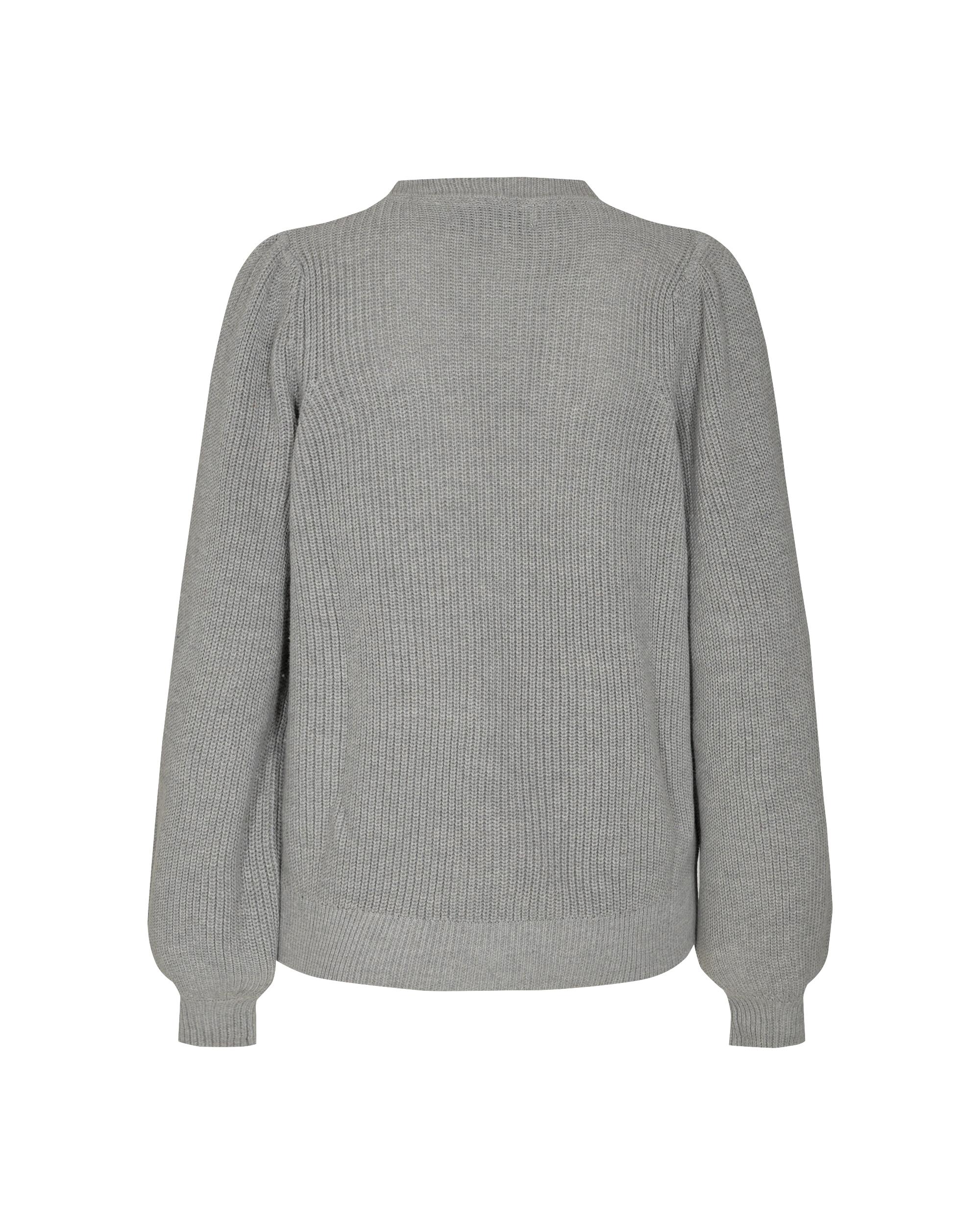 Moves Loula cardigan, light grey melange, small