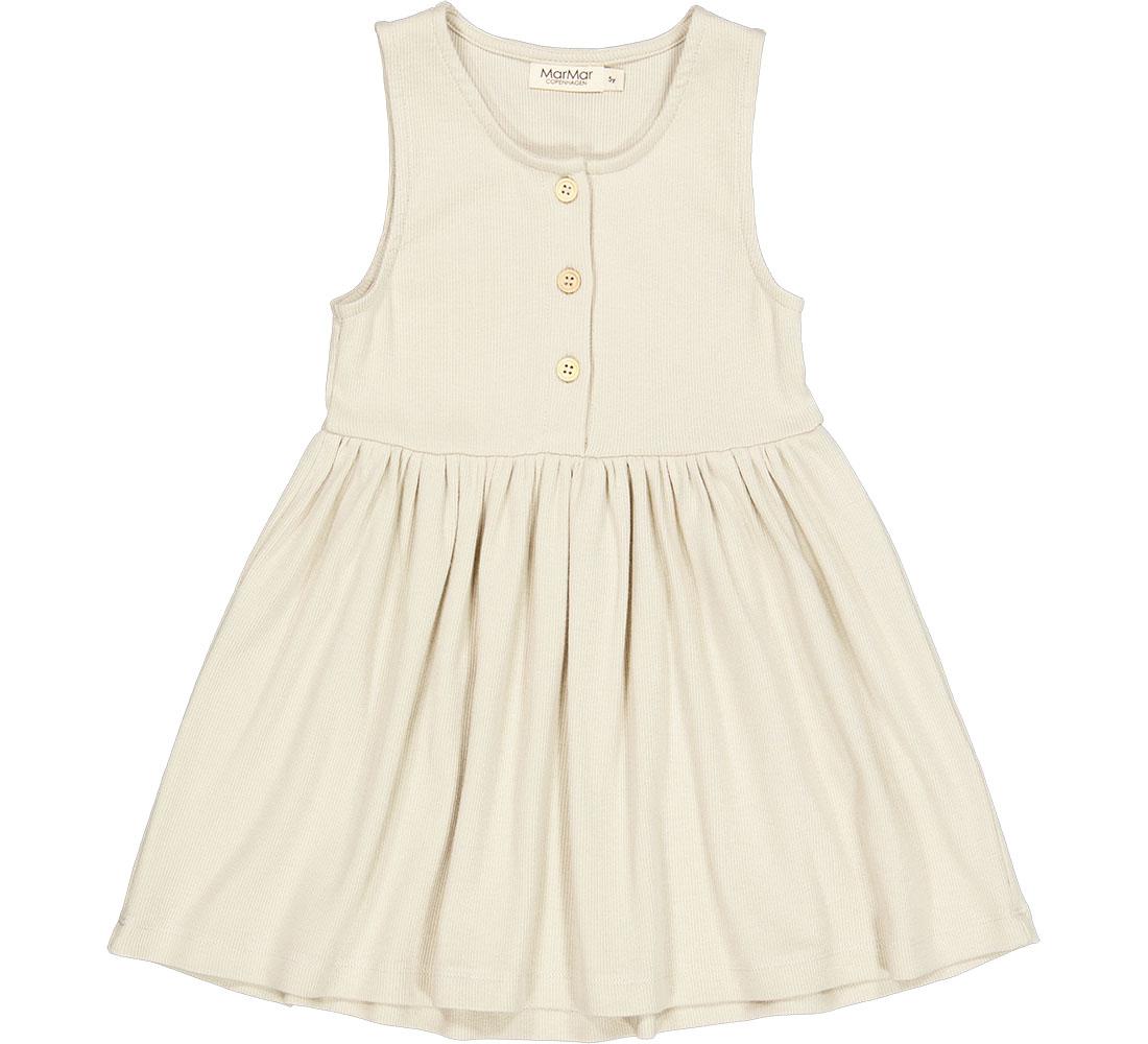 MarMar kjole m. knapper, offwhite, 128