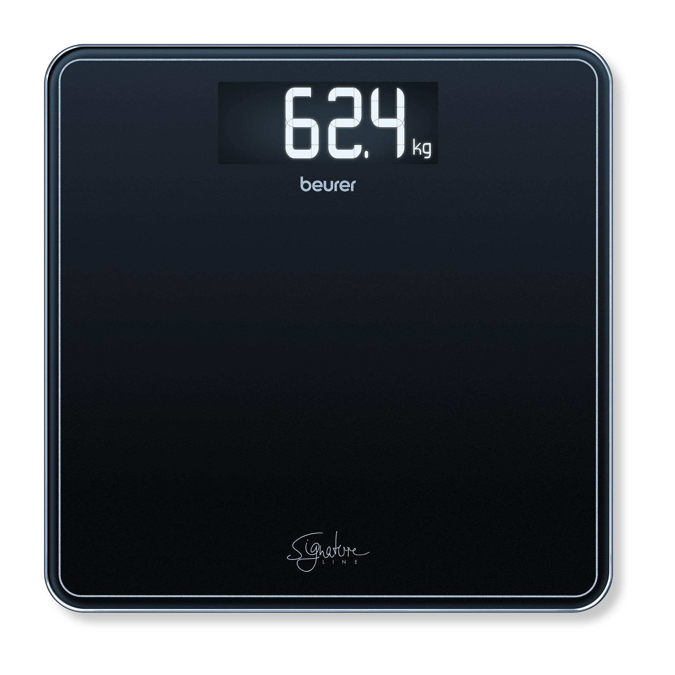 Beurer GS400S personvægt, sort