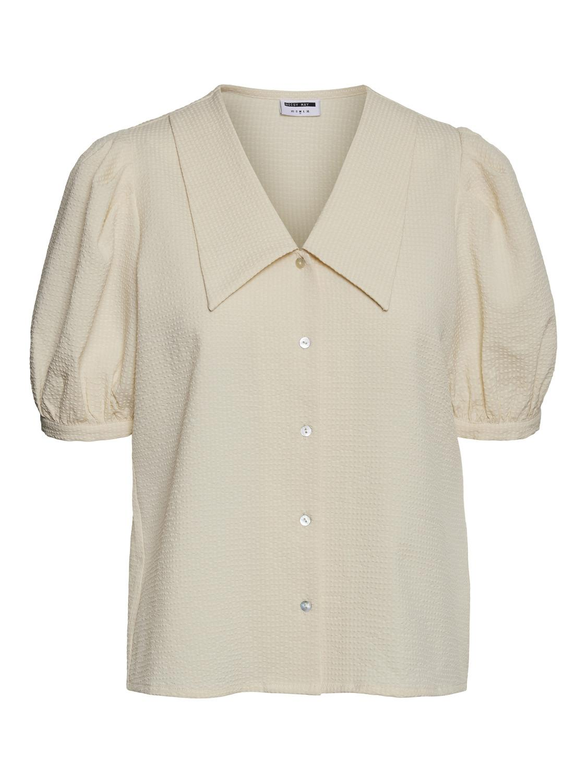 Noisy May Louis Ceren skjorte, Eggnog, XL