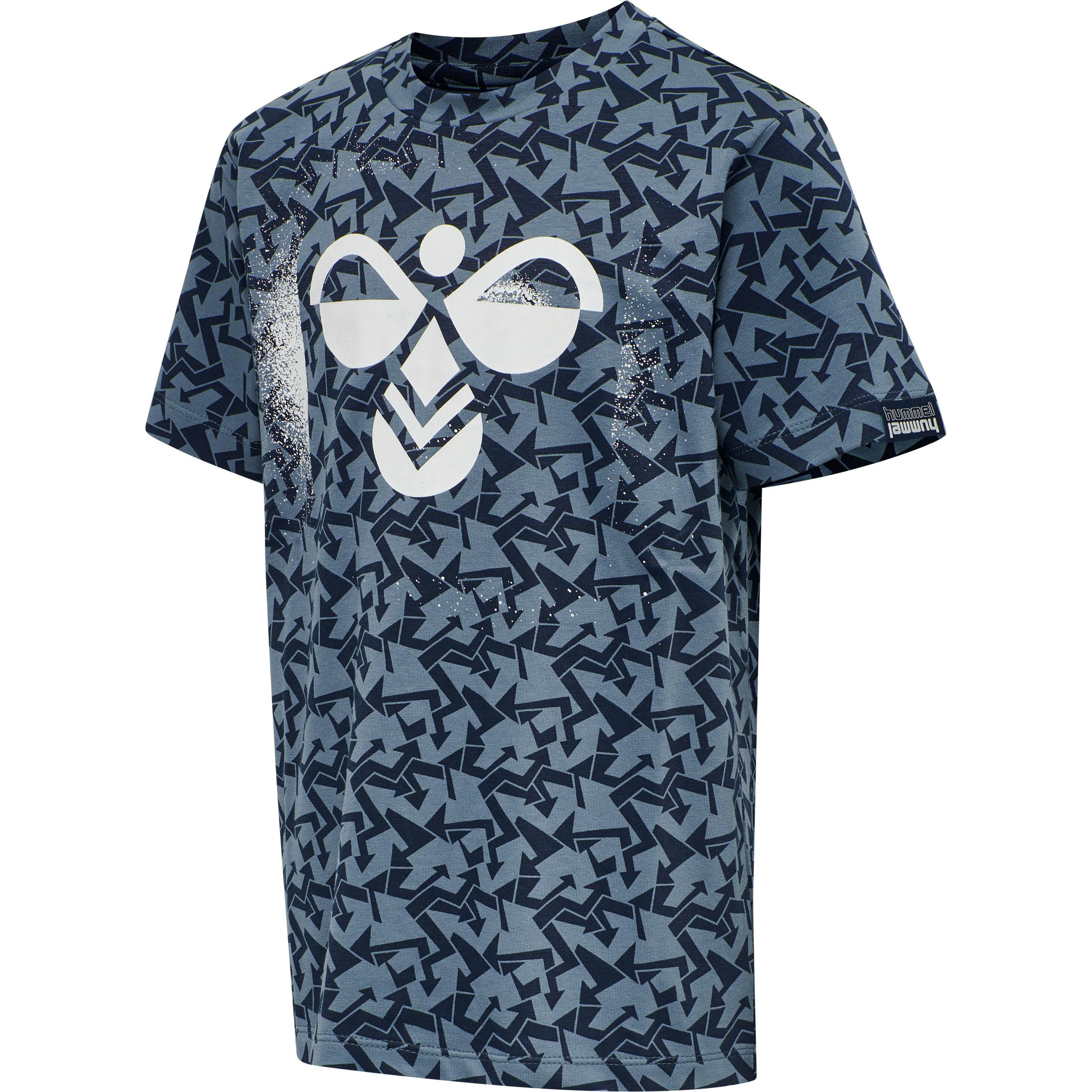 Hummel Akon t-shirt, china blue, 134