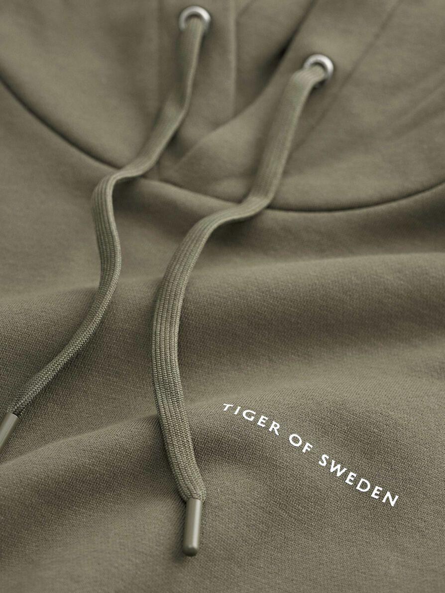 Tiger of Sweden Dominick sweatshirt, kalamata, small