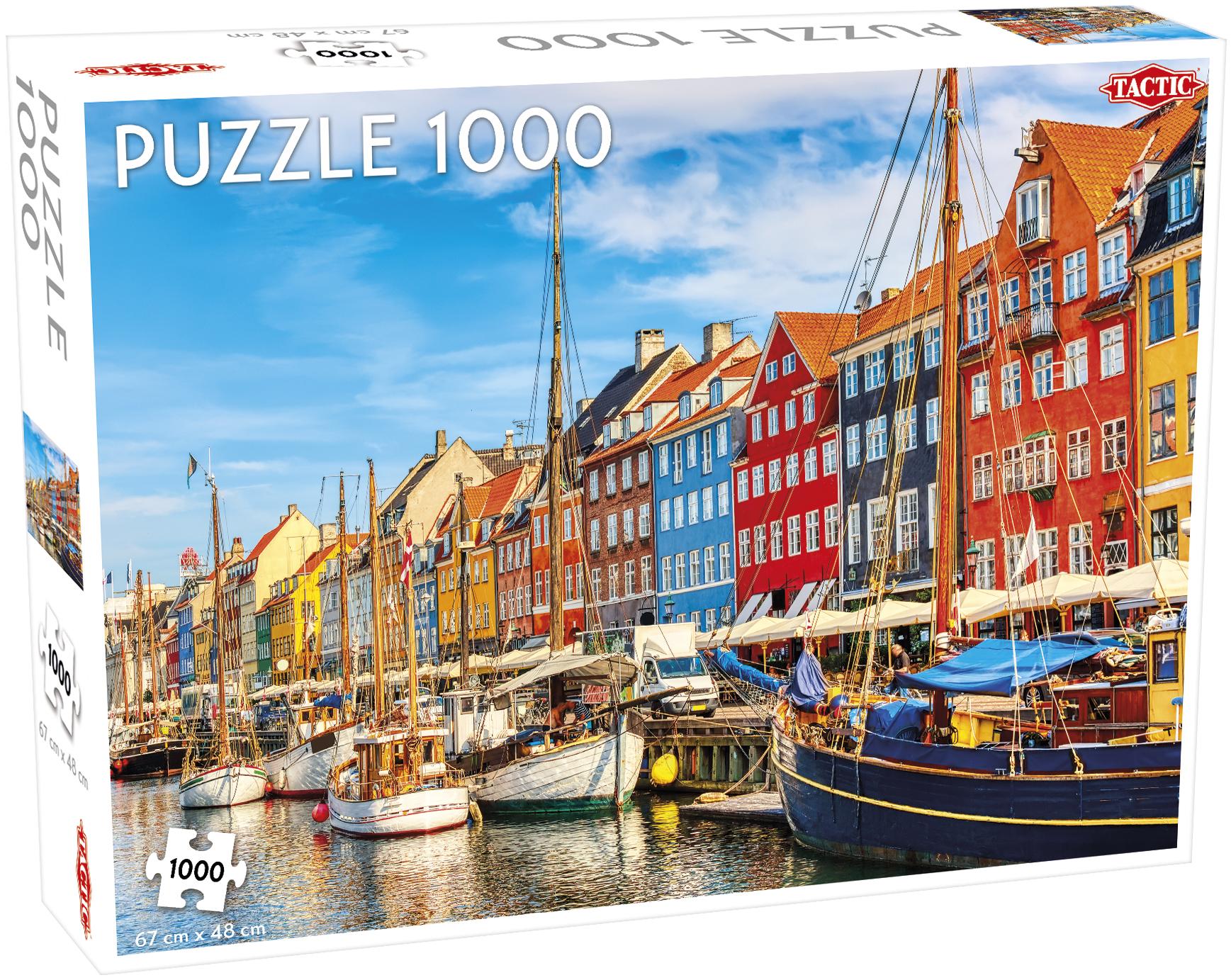 Tactic Puslespil, Nyhavn, 1001 brikker