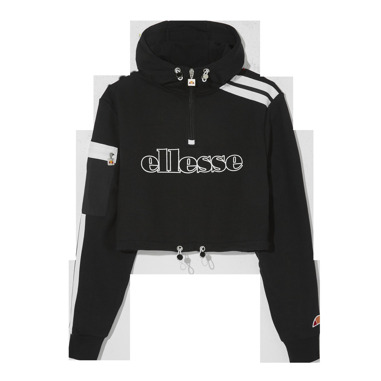 Ellesse Diem cropped hoodie