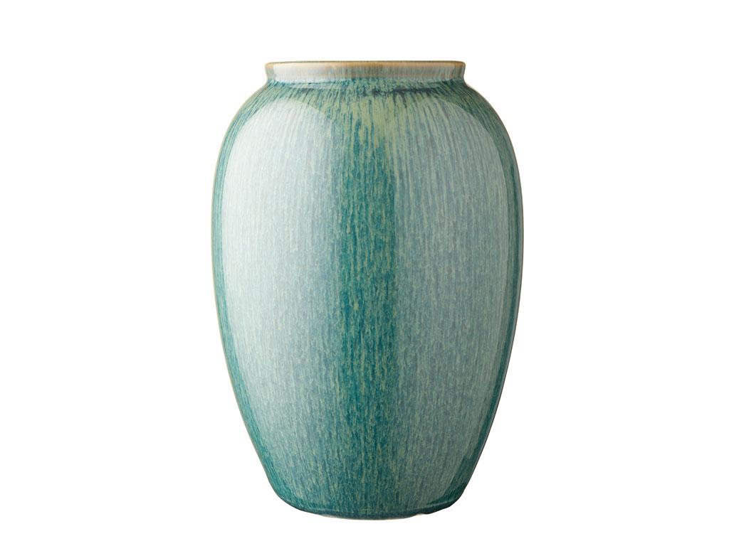 Bitz vase, 25 cm, mørkeblå