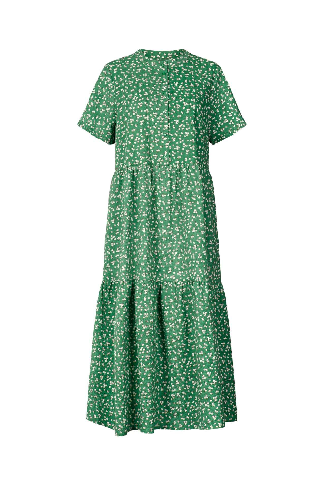 Lollys Laundry Fie kjole, green, x-small