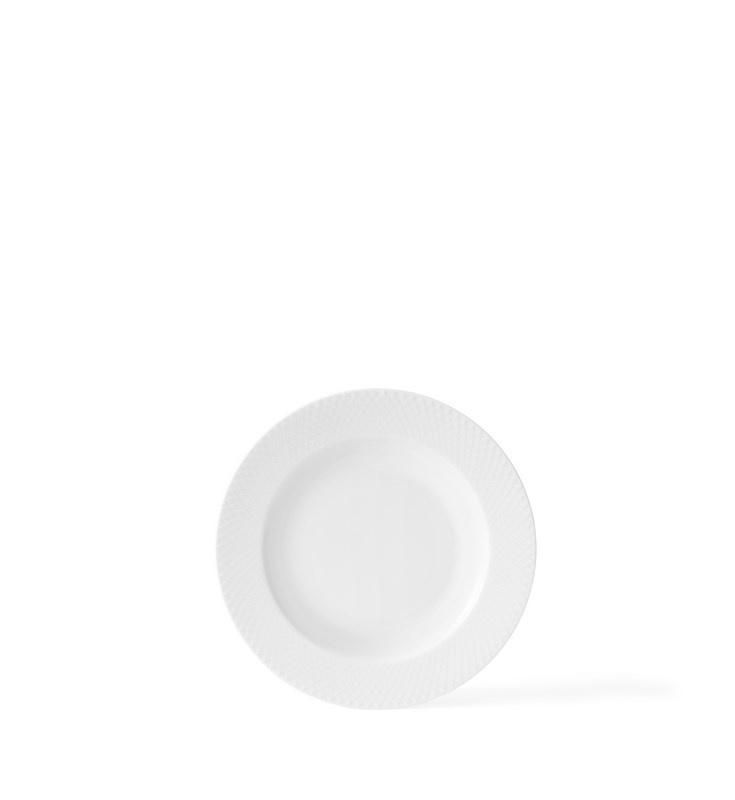 Lyngby Porcelæn Rhombe dyb tallerken, Ø24 cm
