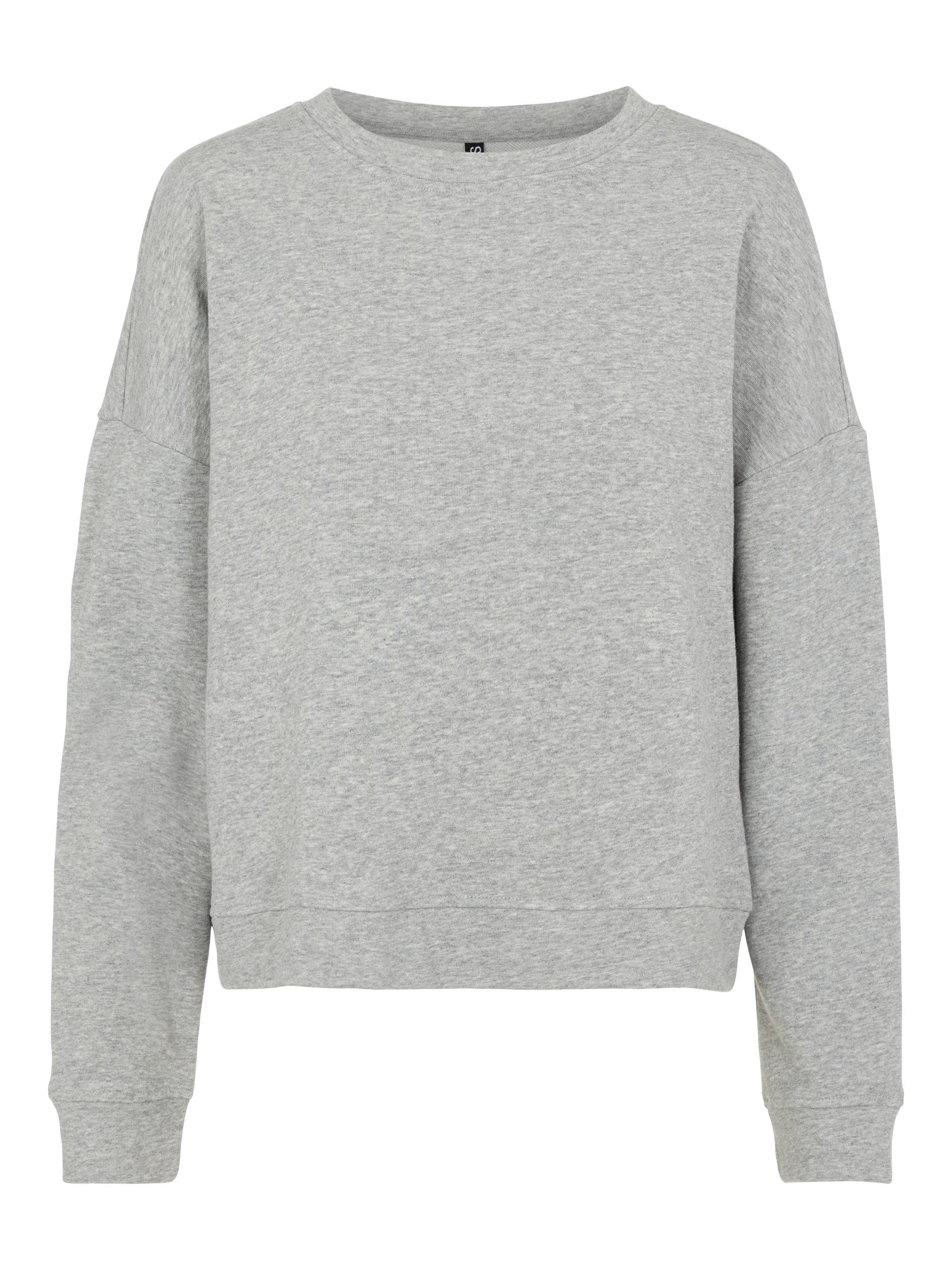 Pieces Chilli Summer sweatshirt, light grey melange, large
