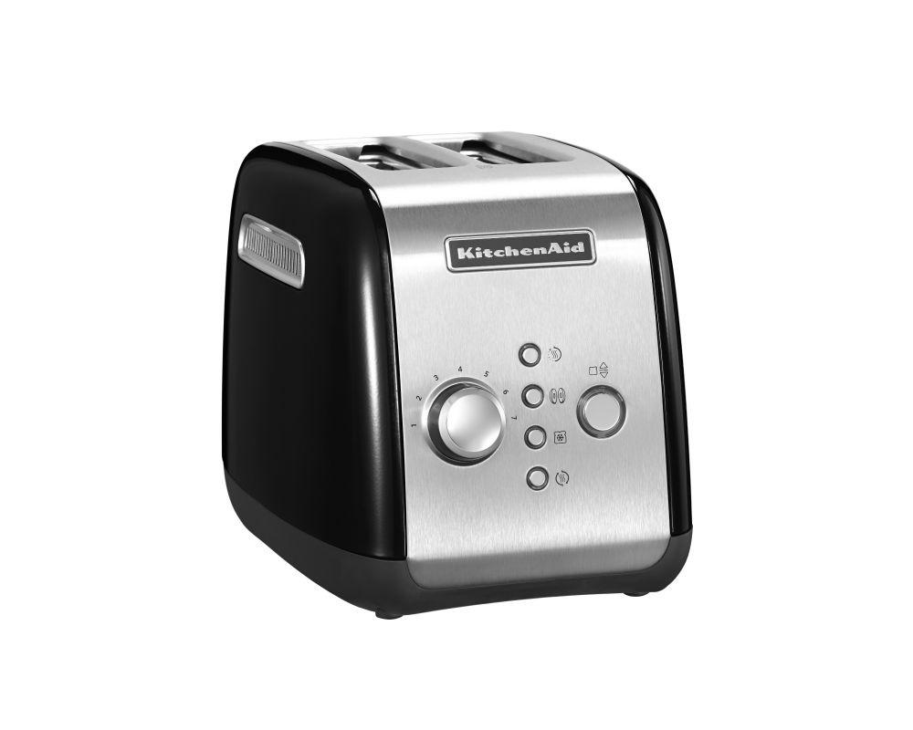 KitchenAid toaster, black