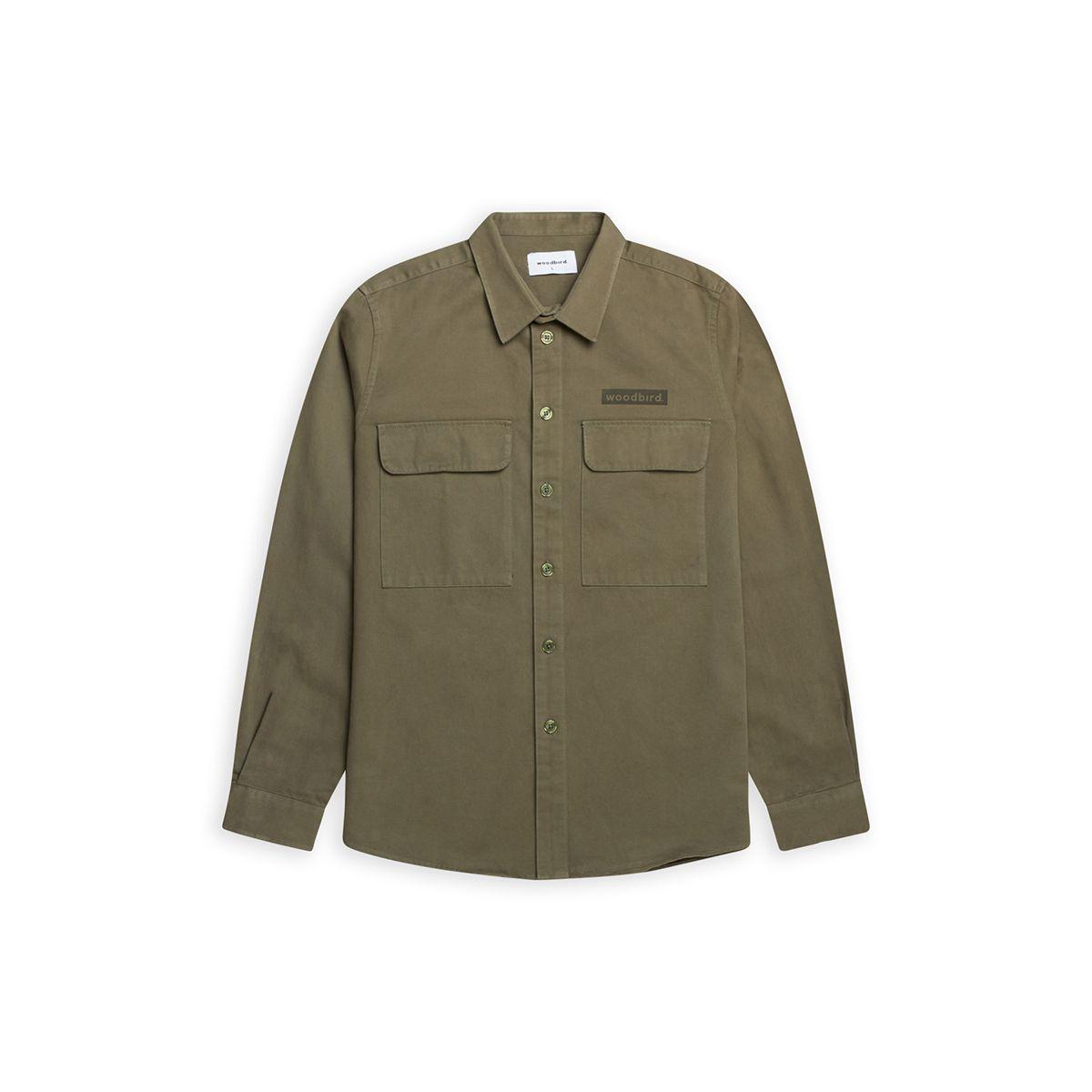 Woodbird Hoxen Work skjorte