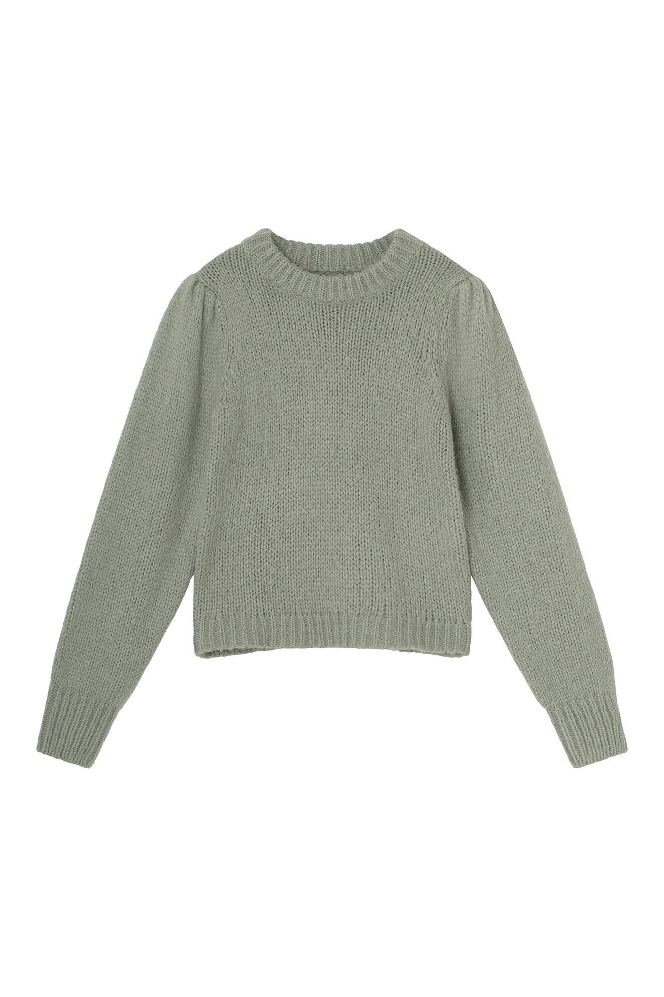 Envii Entrepka LS knit, chinois mel, x-large