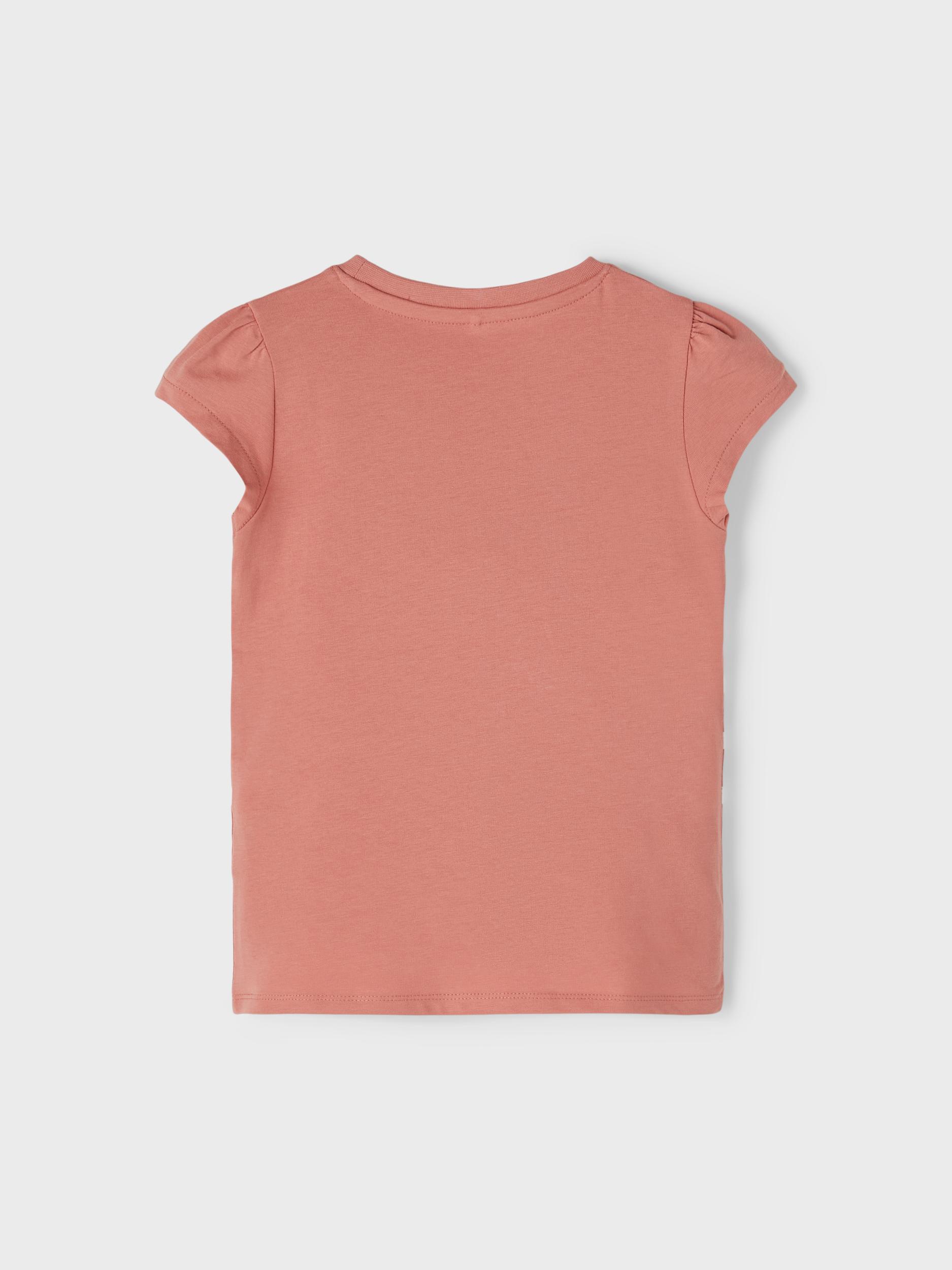 Name It Gurli Gris Rebate SS t-shirt, desert sand, 98