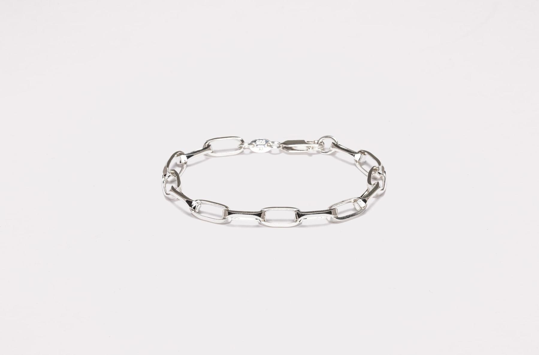 Frederik IX Studios Prestige armbånd, Silver, 19 cm