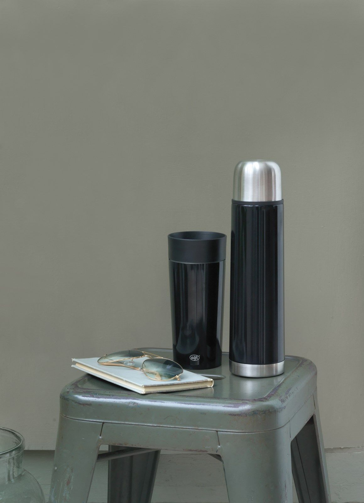 Alfi IsoTherm Eco II termoflaske, 750 ml, hvid