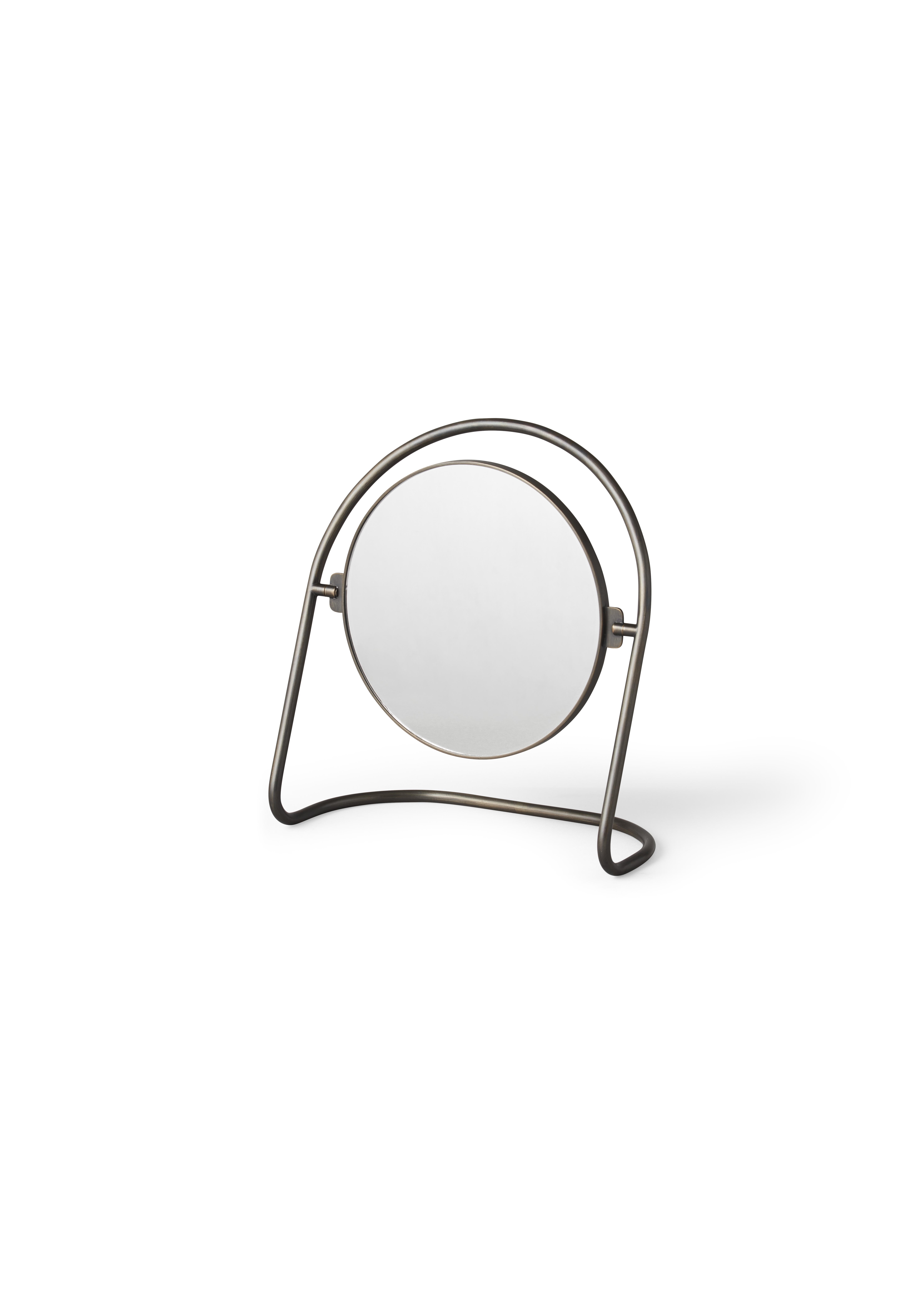 Menu Nimbus bordspejl, bronzeret messing