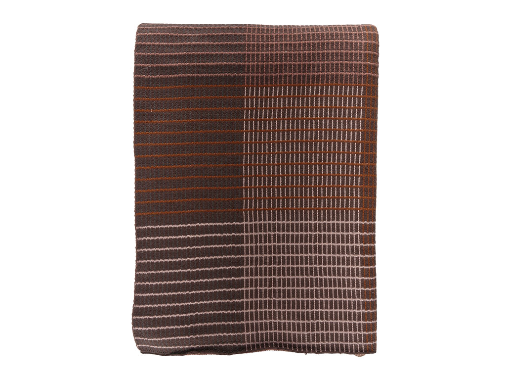 Södahl Interlace plaid, 130x170 cm, maroon