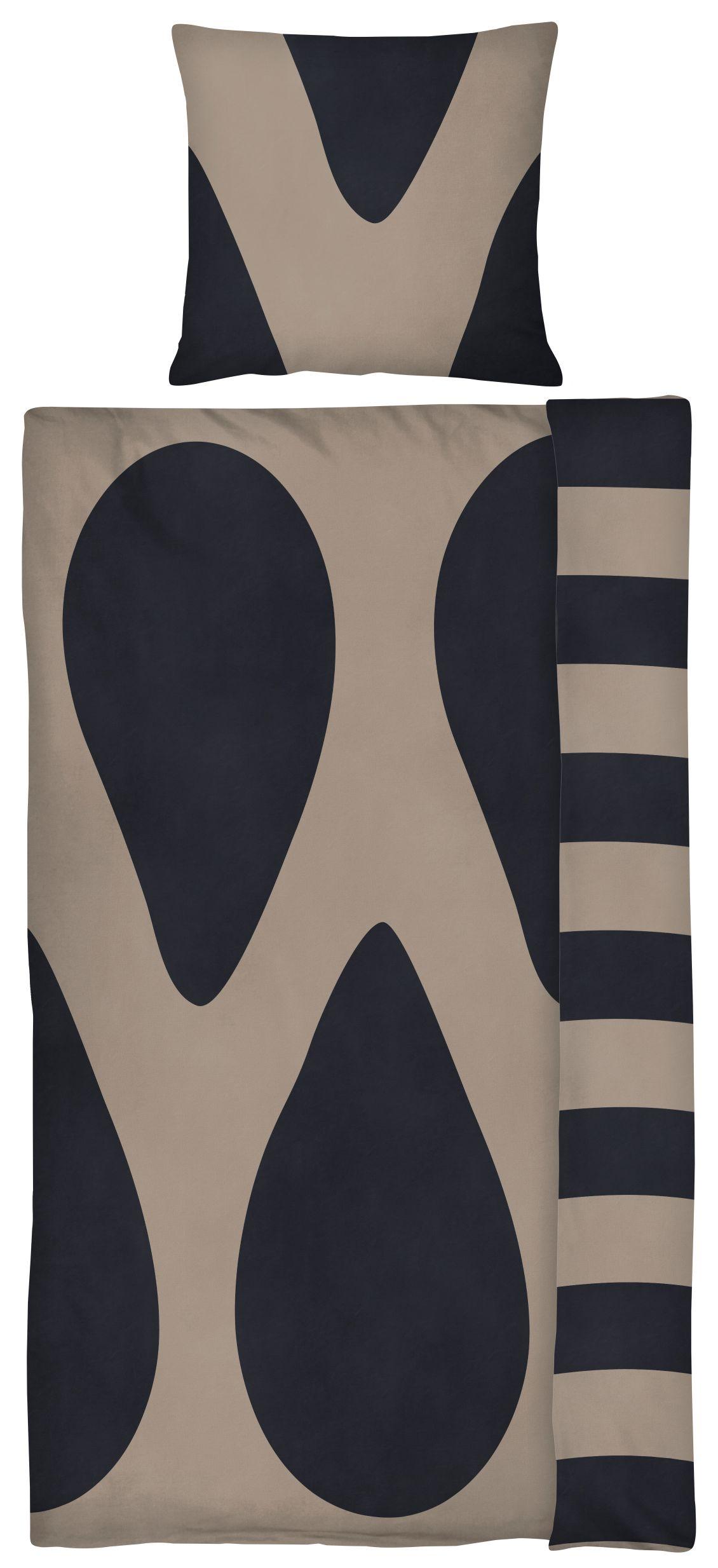 Mette Ditmer Raindrops sengelinned, 140x200 cm, sand