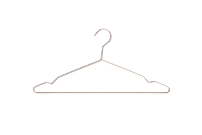 HAY Hanger bøjlesæt, nude, 5 stk