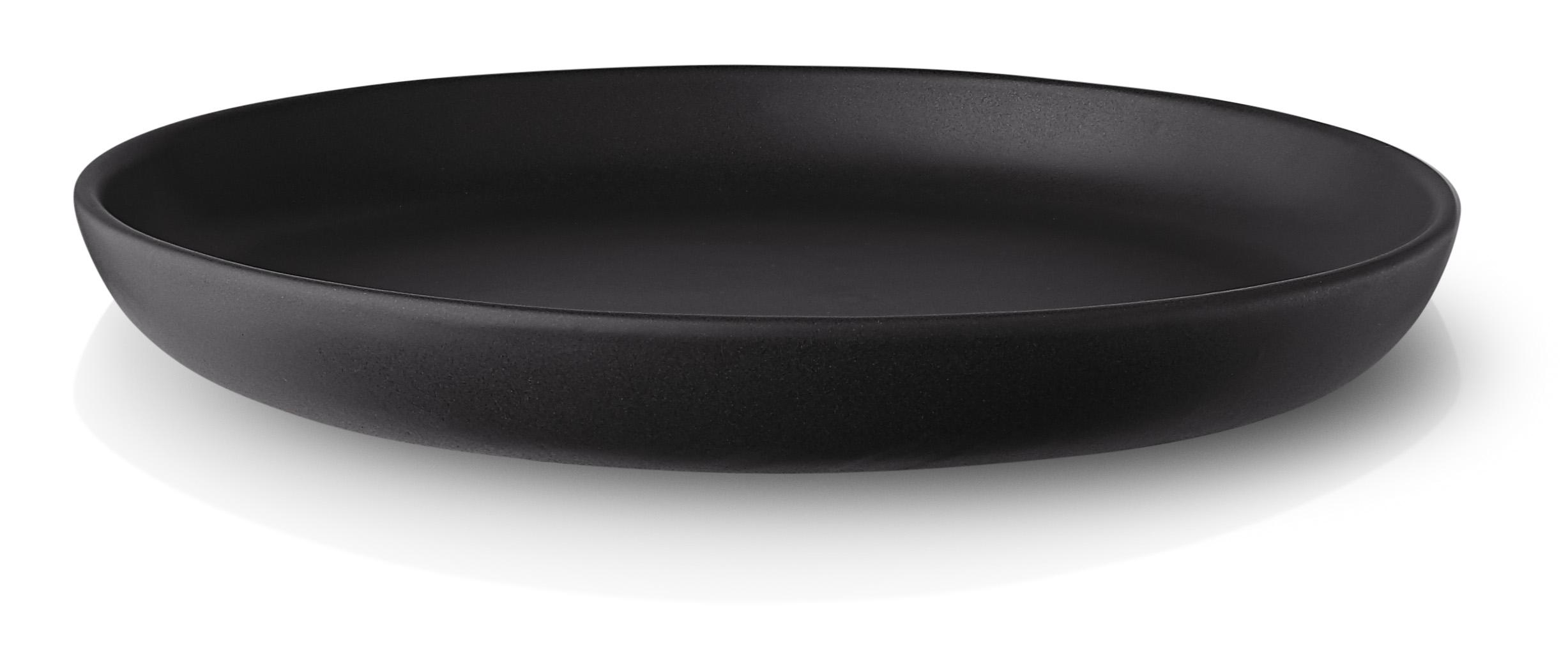Eva Solo Nordic Kitchen desserttallerken, Ø17 cm, black