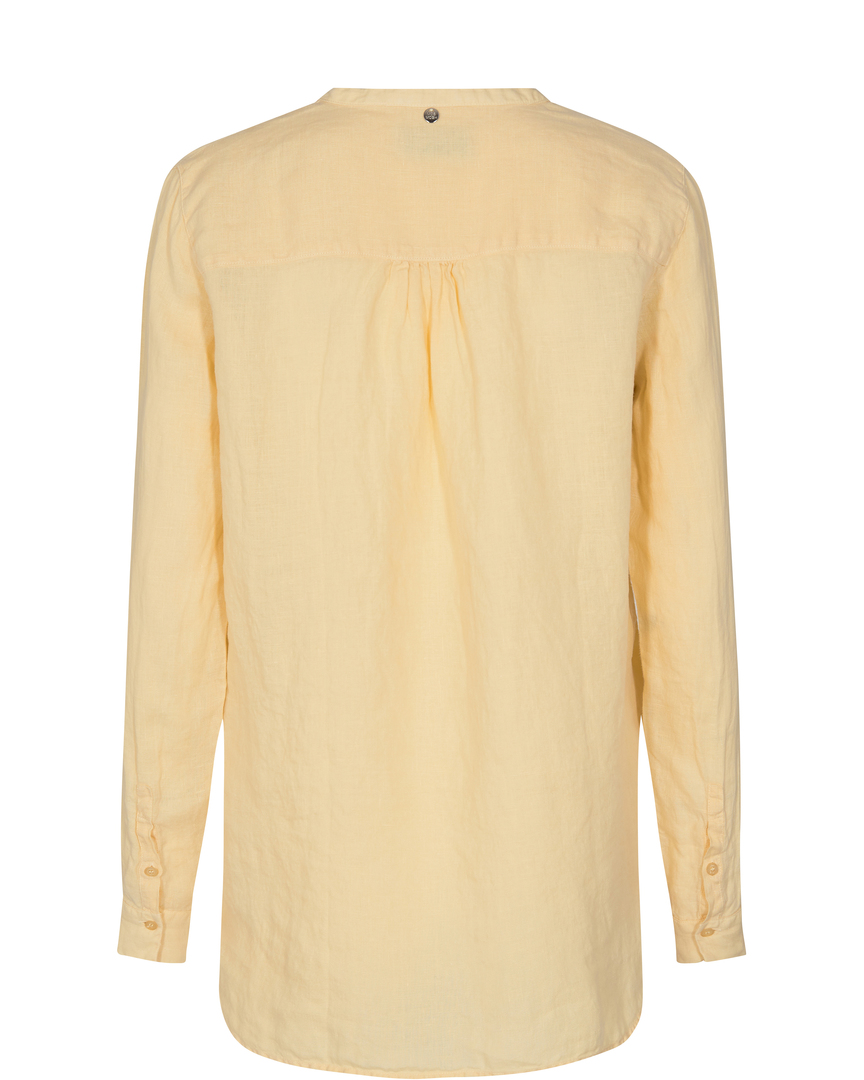 Mos Mosh Danna Linen bluse, charmomile, x-large