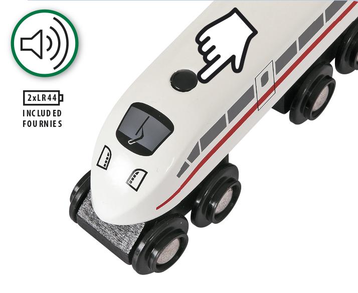 BRIO Højhastighedstog med lyd