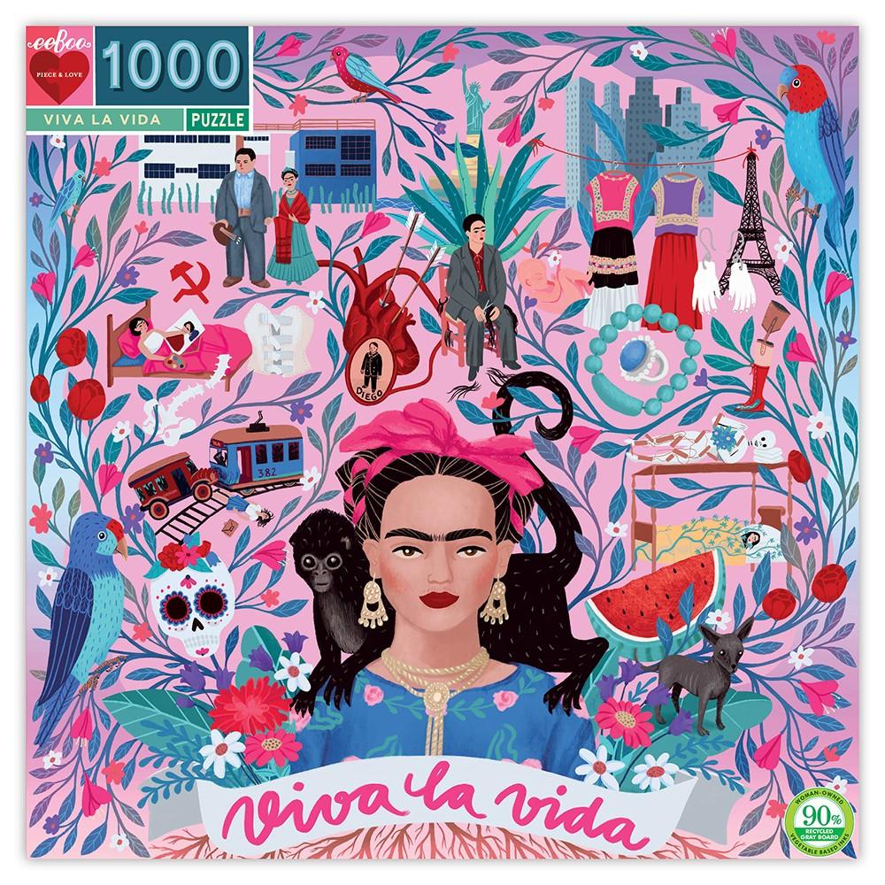 eeBoo puslespil, Viva la Vida, 1000 brikker