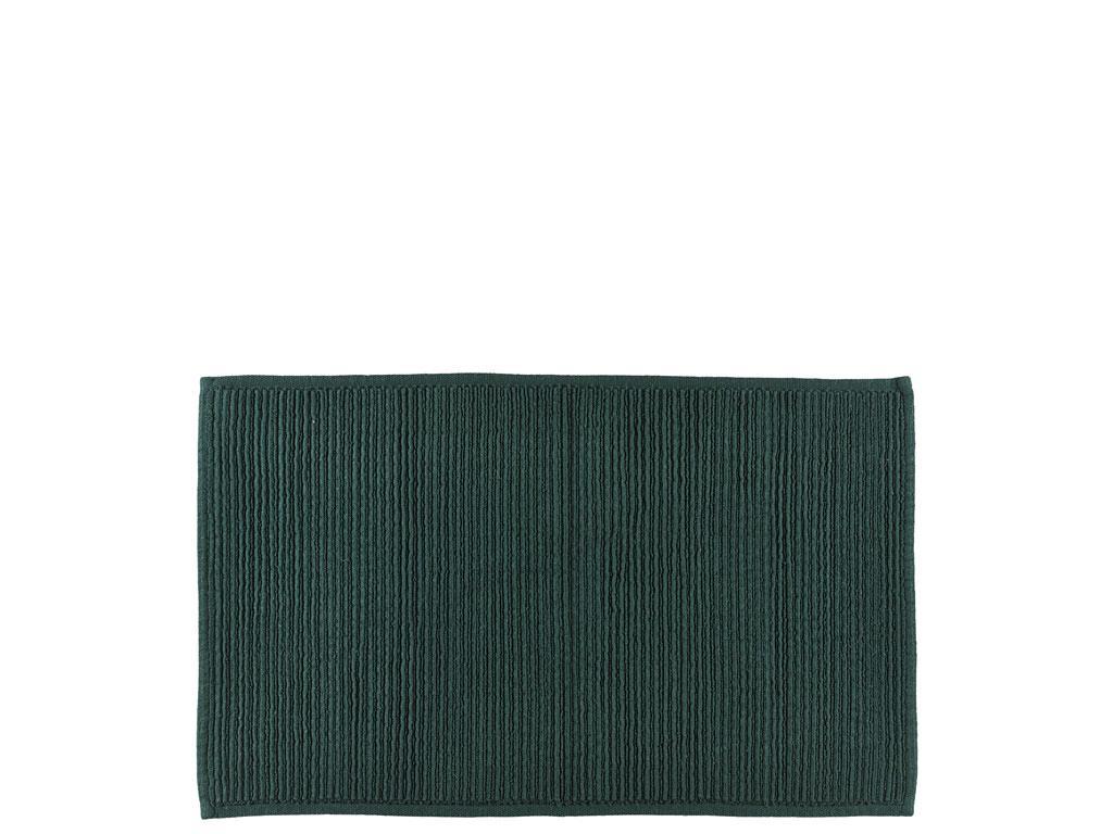 Södahl Plissé bademåtte, 50x80 cm, deep green