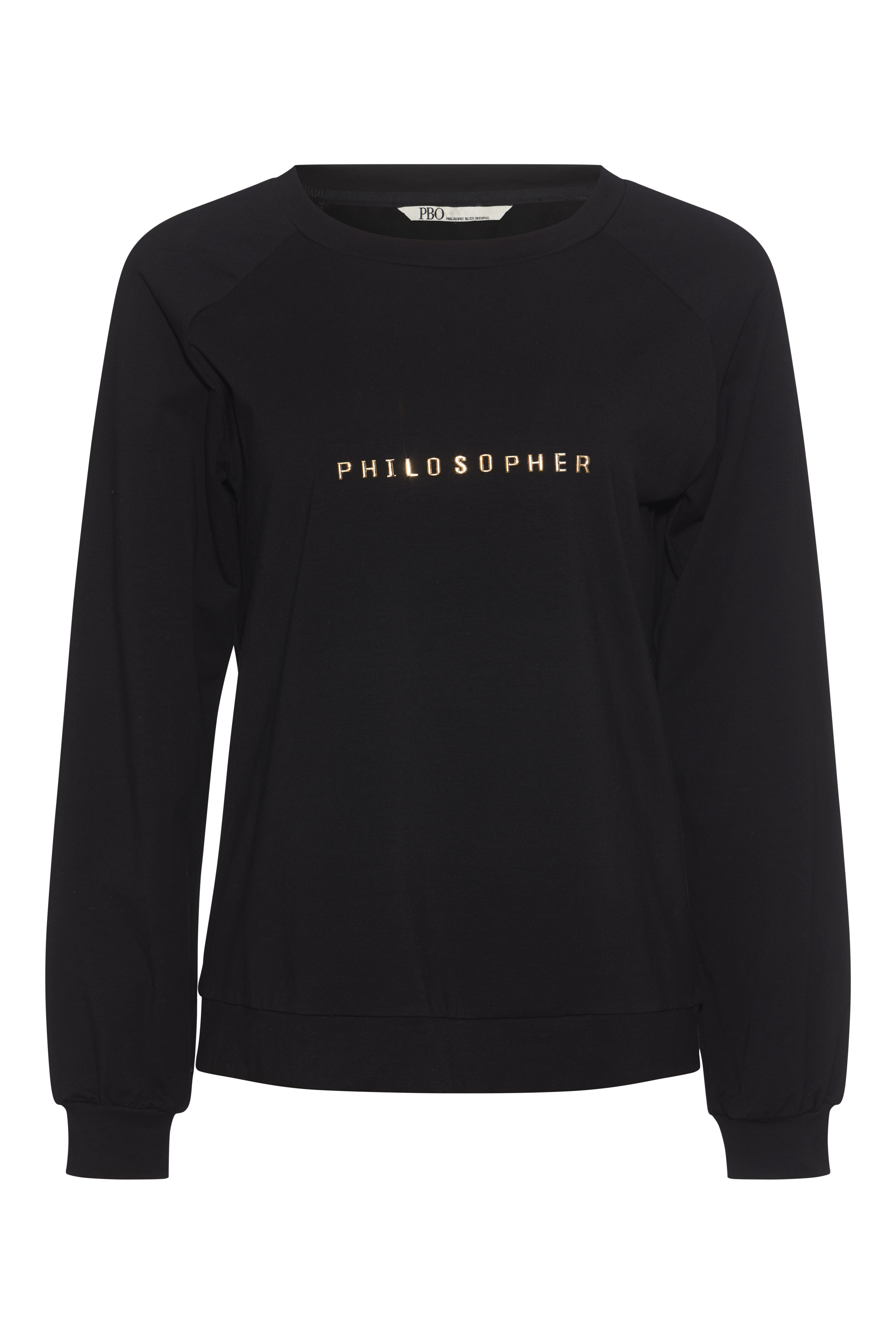 PBO Folsom sweatshirt, black, medium