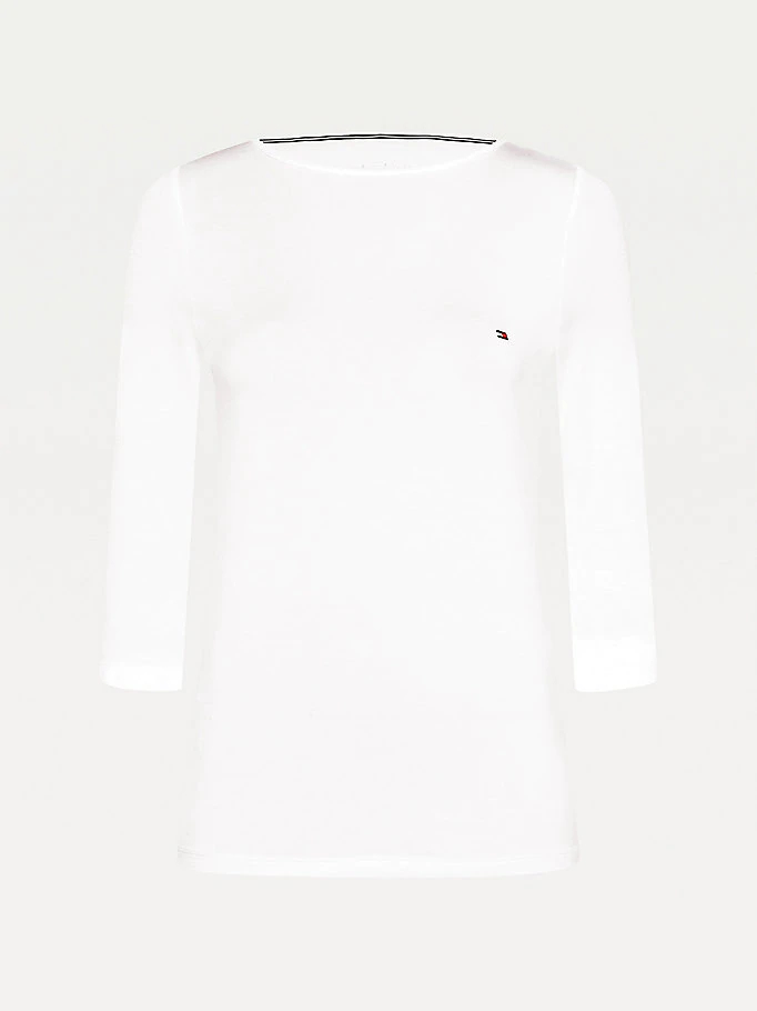 Tommy Hilfiger Boat Neck t-shirt, white, x-large