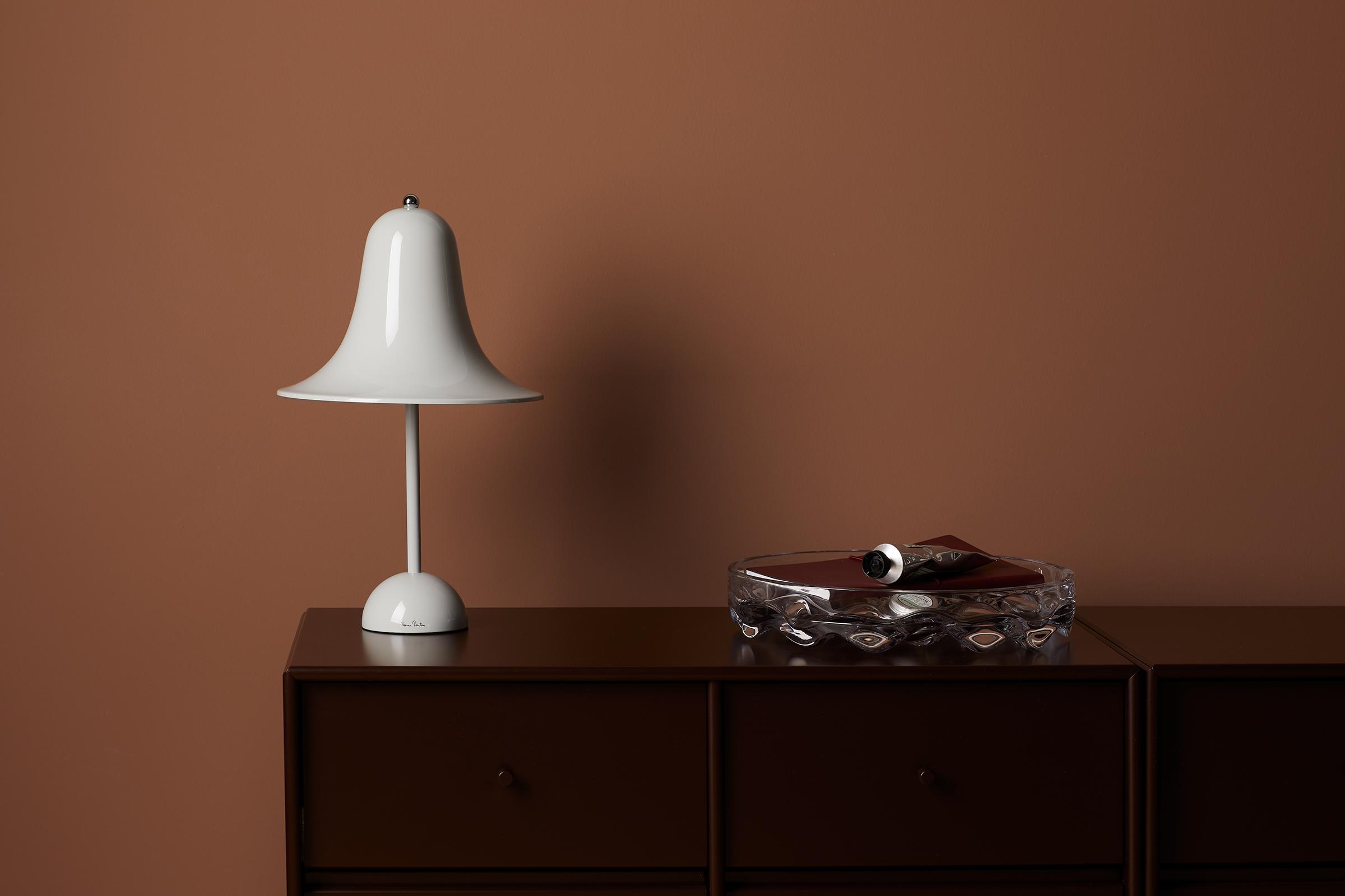 Verner Panton Pantop bordlampe, 23 cm, mint grey