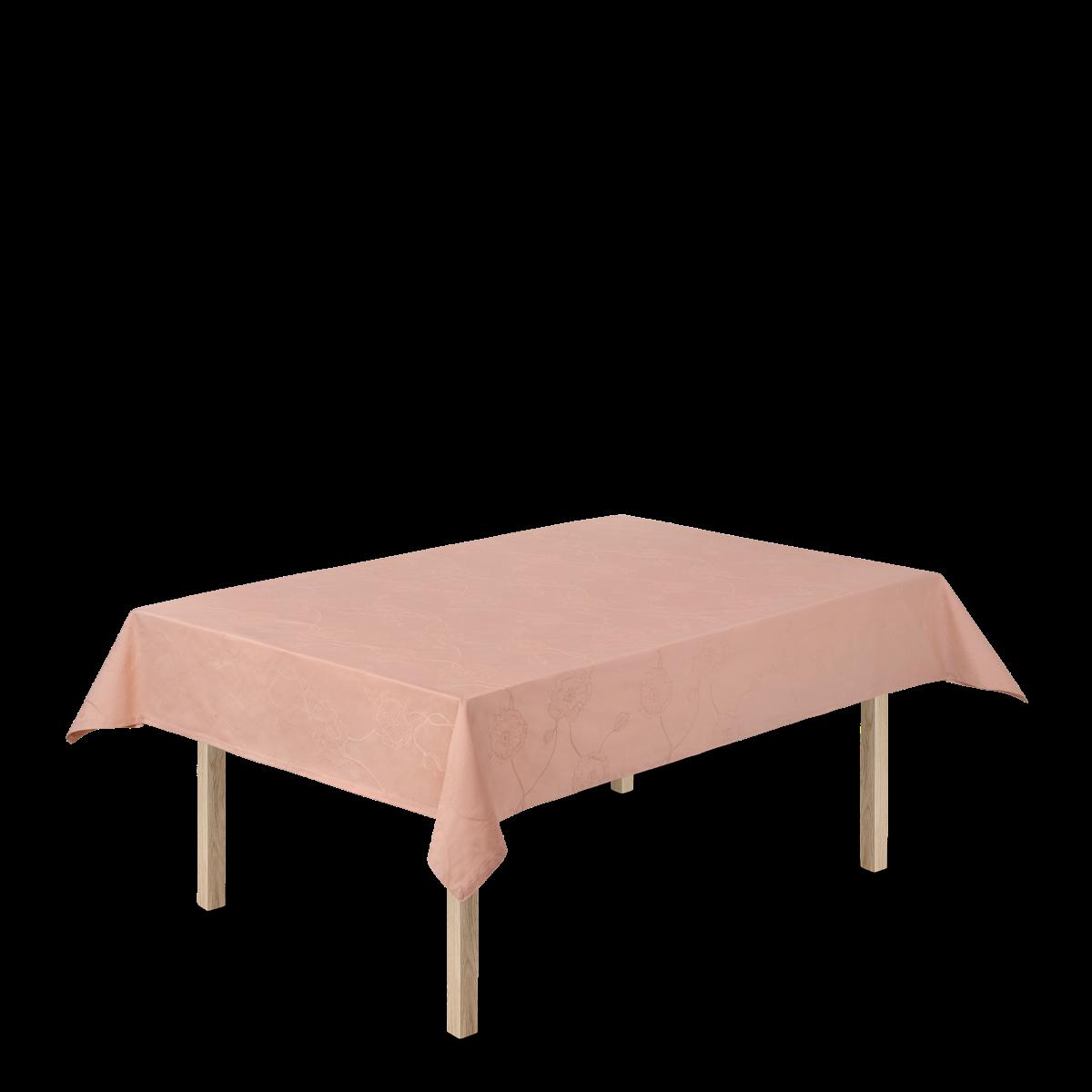 Kähler Hammershøi Poppy damaskdug, nude, 150x220 cm