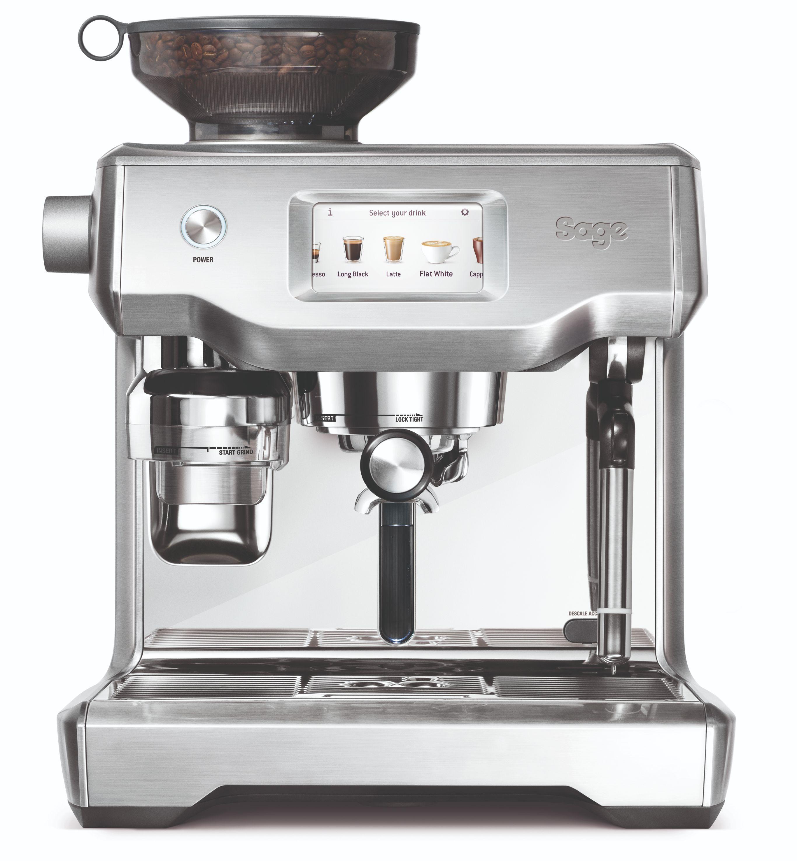 Sage The Oracle Touch espressomaskine, børstet stål