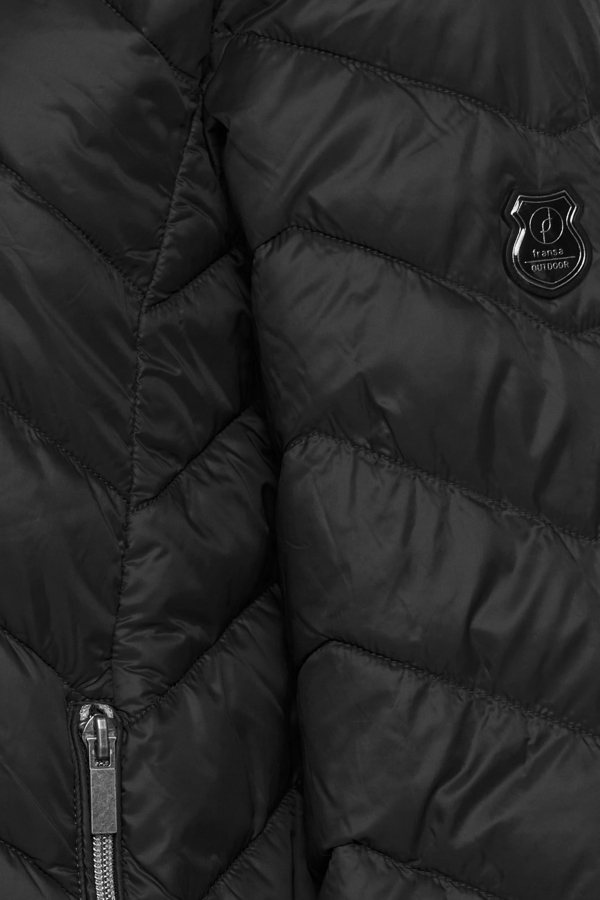 Fransa Frbapadding jakke, black, large