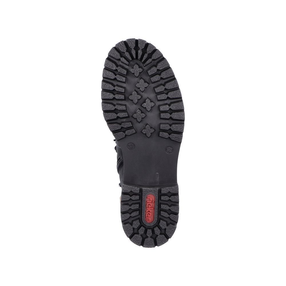 Rieker 72630 støvle, sort, 38