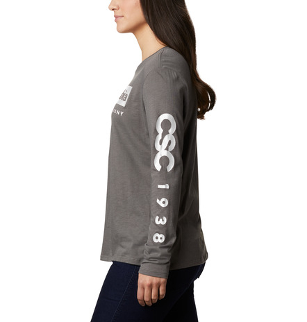 Columbia Autumn Trek™ LS Relaxed bluse, charcoal, large