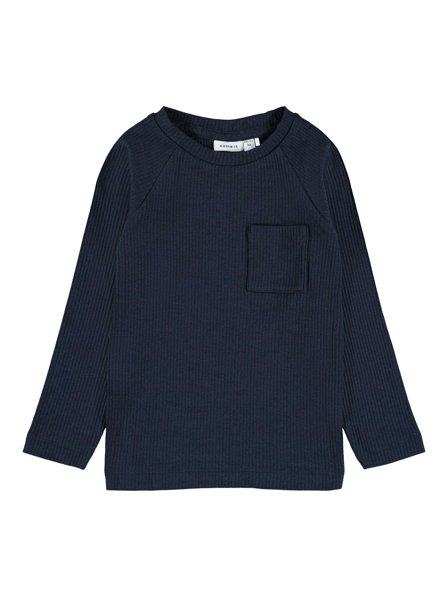 Name It Kabilleon LS t-shirt, dark sapphire, 86