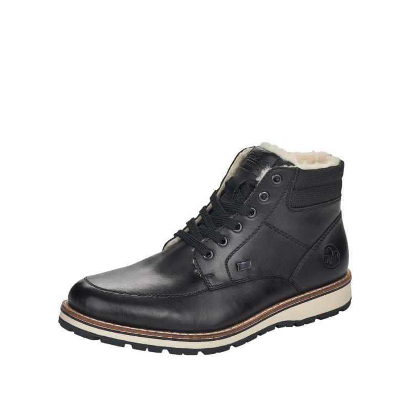 Rieker 38418-00 Støvler, Sort, 44